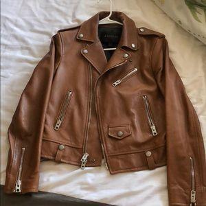 Coach leather jacket, size 4